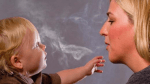 Vermeiden Sie es, dass ihre Kinder Rauch direkt abbekommen?