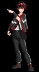 ((purple))Name: Ilusium Geschlecht: M Charakter: freundlich, mutig, zuverlässig, geheimnisvoll, charmant Alter: 16 Aussehen: schwarze Haare mit rot,