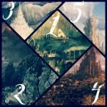 """... ((blue))Städten!((eblue)) 1: Eine Elfenstadt mit dem Namen """"Kassius"""". Sie wurde in einer Klippe über einem steilen Abhang erbaut und g"""