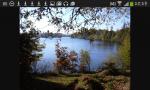 Das ist der schwarze See. Er liegt am Waldrand. Dort darf man schwimmen, tauchen und anders Spass haben.