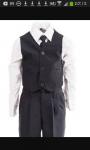 Das ist die Schuluniform für die Jungs zwischen 13 & 15 Jahren.