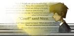 Ab hier geht es dann mit Fanart von sabertooth racoon los. Als erstes gibt es ne coole Collage! (Das ist eine Charakterentwicklung von Nico. Beginnt m