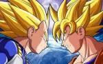Vegeta ist größer als Son Goku?