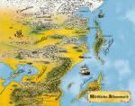 ((bold))((big))Orte((ebold))((ebig)) ((bold))Albenmark((ebold)) Die Welt besitzt einen ewigen Vollmond. Nördliche Albenmark: Alvemer Arkadien Bainne