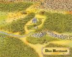 ((bold))Herzland((ebold)) Das Herzland wird fast vollständig von Arkadien umgeben. Das Gebirge Ioliden mit den dunklen Bergwälder begrenzt es nach N