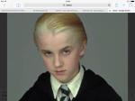 Draco hat kurze blonde Haare?