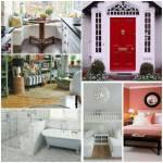 Sailor Drive 6, Familie Pines Das Haus ist weiß, hat aber eine auffällige rote Tür. Das Zimmer von Jillian ist mit dunklem Holz geschmückt und in
