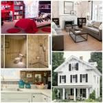 Privet Drive 19, Lucy Edwards Das Haus ist aus weißen Latten gebaut und hat große Fensterläden. Im Schlafzimmer steht ein rotes Bett, die Kommode i