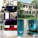 Das Haus Privet Drive 23, das Haus von Isabella Wayne Das Haus ist cremefarben. Die Fensterläden und Türen sind aus dunklem Holz. Das Schlafzimmer i