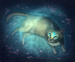 Name: Goldschweif Art: Katze Alter:22 Monde Geschlecht: Weiblich Rang: Heiler Aussehen: hübsche Goldfarbene Kätzin mit leuchtend blauen Augen Stirn