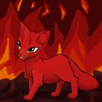 Ist der Krieger Flammenschein nicht hübsch?