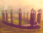 Nicht zu vergessen ist auch unser Quidditchstadion etwas 1 km von der Schule entfernt.