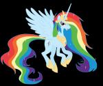 So nun fliegen wir nach oben mit den Heißluftballon (wenn du ein Pegi bist fliegen wir alleine) ins Wolkenland Regentin: Rainbow Dash Besonderheit: h