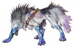 ((purple))((bold))Shy((ebold)) ist ein von Psycho erschaffener Wolf. Sie greift mit starken Psycho-Attacken an mit denen sie die Gefühle und den Vers