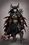 ((navy))((bold))Shavara((ebold)) oder kurz, ((bold))Sha((ebold)), ist Deathwings Tochter und besitzt ebenfalls eine menschliche und einen eisernen Unt