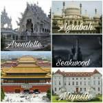 ((unli))Die Königreiche: ((eunli)) ((cur))Agrabah: ((ecur)) Landschaft: Wüste Architektur: Orientalisch Nachbarkönigreiche: Arendelle, Seakwood Vor