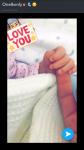 Wie heißt Mikes Tante die im April 2017 ihr erstes Kind bekommen hat?