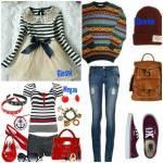 Die Kleidung der Schüler - Alltag