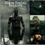 Name: James Keziah Delaney Spitzname oder Deckname: Er ist eher als James bekannt, die meisten nennen ihn jedoch auch den toten Mann Alter: 26 Geschle