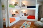 Raum 24, Zimmer Bunt, 4 Betten: Oben links -> Oben rechts -> Unten links -> Unten rechts ->
