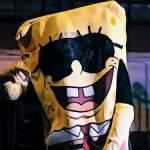 Wie heißt Spongebozz alter Freund denn er gedisst hat in Started From The Bottem?