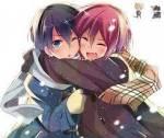 Haruka und Rin waren zusammen in einer Grundschule.