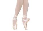 Wie nennt man die Schuhe, auf denen die Ballerinas mit dem ganzen Fuß auf der Bühne tanzen?