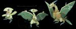 Seepter: Pflanze Leadactyl: Pflanze/Flug Treeodactyl: Pflanze/Flug