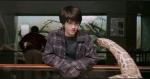 Harry kann mit Schlangen reden und auch mit Drachen, weil sie verwandt miteinander sind?