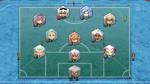 Aufstellung Chūjitsuna Yami: Sturm: Masaru, Senichi, Tenshi (Noch 1) Mittelfeld: Tsuyoshi, Kuro (Noch 1) Verteidigung: Kazuko, Shadow (Noch 1) Tor: M