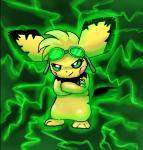 ((bold))Name:((ebold)) Kyoko ((bold))Pokémon:((ebold)) Pichu ((bold))Alter:((ebold)) 16 ((bold))Geschlecht:((ebold)) weiblich ((bold))Aussehen (als M