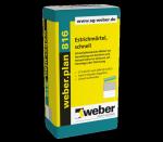 Wie lang ist die Verarbeitungszeit des Produktes Weber Plan 816 Estrichmörtel?