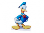 Donald Ducks zweiter Name lautet »Fauntleroy«.
