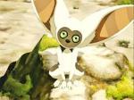 Heißt der Lemur von Aang Momo?