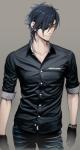 Name: Kasai Yamamoto Spitzname: Kasa Alter: 26 Geburtstag: 21.06. 17 BE Gruppe: Ja, Kämpfer Äußeres: schwarze Haare, die bläulich scheinen; hat nu