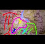 ((fuchsia))Clanterritorium((efuchsia)) ((blue))WdF Eingang((eblue)) ((olive))Clanlager((eolive)) ((green))Territorium der Streunersippe((egreen)) ((re
