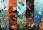 ((gray))Demon: Hallo und Herzlich Willkommen in der Welt der Pokémon. Diese Welt wird von kleinen und großen Monstern bewohnt, die wir Pokémon nenn