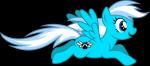 Hallo ich bin Blue hier ist mein Steckbrief Name: Blue Alter:11 Geschlecht: w Rasse: Pegasus Aussehen: Bild Schönheitsfleck: Pfotenabdruck mit Flüge