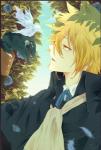 Name: Nanashi Yamuri Alter: 19 Geschlecht: männlich Aussehen: er besitzt, glänzendes, gepflegtes, blondes Haar, welches etwa ab der Mitte golden wir