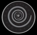((unli))Untersekunda((eunli)) Dieses Emblem heißt Nyx' Labyrinth und zeigt ein mit glänzendem Silbergarn gesticktes Spiralmuster, welches die S