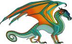 ((bold))Regenflügler((ebold)) Regenflügler sind schlanke, elegante Drachen. Sie haben Greifschwänze, mit denen sie sich durch die Bäume hangeln, k