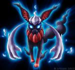 Name: Sombra Art: Unbekannt Hybrid: Evoli und Darkrai (da ich endlich ein Bild gefunden habe *total freu*) Typ: Unlicht, Normal Geschlecht: Männlich