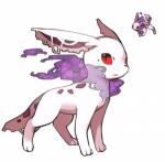 Name: Vena Art: unbekannt Hybrid: nein Typ: Gift/Geist Geschlecht: weiblich Aussehen: weißer, schlanker Körper, rote Augen, zerfledderte Ohren, klei