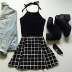 Deine Lieblingsfarben sind schwarz, grau und weiß.