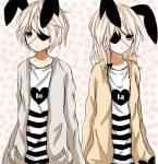 Die drei haben natürlich wie ihr Bruder auch eine Häschenform ^-^ Hier die von LoLa