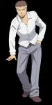 Name: Ryoma Nachname: Terasaka Codename: Takaoka Nr. 2 Geschlecht: männloch Alter: 15 Klasse 3 A □ B □ C □ D □ E ○ ((unli))Äußeres((eunli