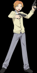Name: Hirato Nachname: Maehara Codename: verdammter Schürzenjäger Geschlecht: männlich Alter: 15 Klasse 3 A □ B □ C □ D □ E ○ ((unli))Äu