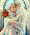 Welche Bedingung hat Victor Yuri gestellt, damit sie heiraten?
