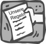 ((blue)) ((bold)) ((cur)) Die Regeln ((ecur)) ((ebold)) ((eblue)) ((bold)) ((green)) Die Schulregeln: ((ebold)) ((egreen)) 1) Kein Mobbing! 2) Keine G