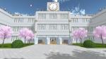 Die Akademie High School: -Klubräume -Klassen (1-1, 1-2, 2-1, 2-2, 3-1, 3-2) -Lehrer Zimmer -Zimmer der Direktorin -Krankenzimmer -Toiletten -Raum mi